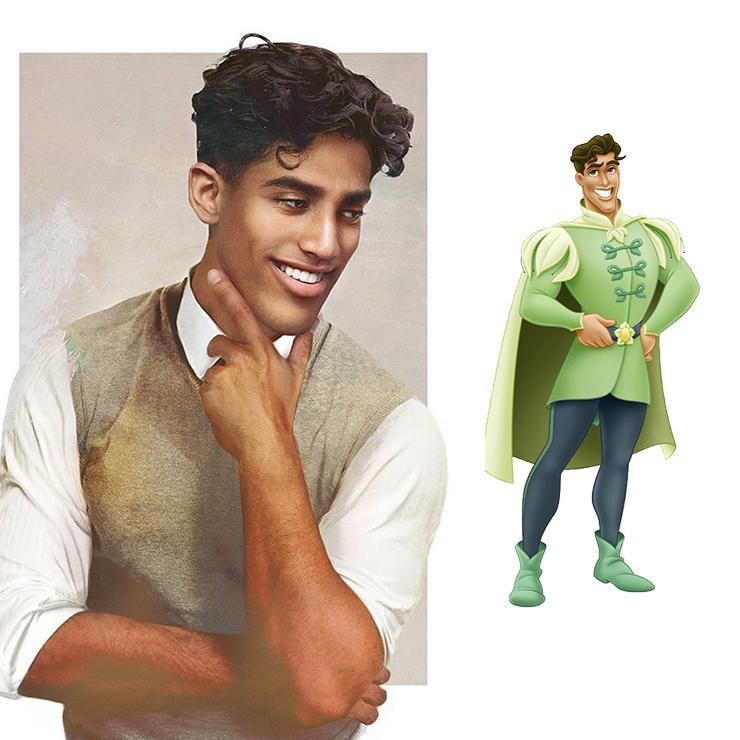 Naveen herceg - A hercegnő és a béka